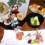 【接待、宴会、会食に人気】旬を味わう会席料理
