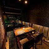 接待や宴会におすすめ2階テーブル席
