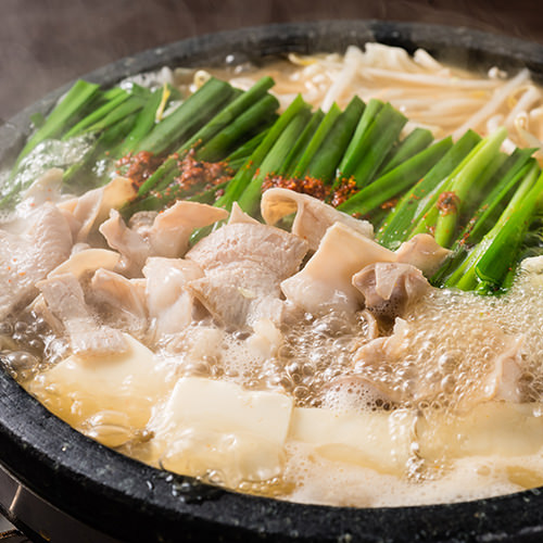 九州料理ともつ鍋を是非!