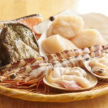 【Aコース】ステーキに活車海老オイル焼きや、活ホタテ貝オイル焼きなどボリューム満点全7品を満喫♪