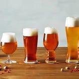 ◇ビール◇ 日替わりで楽しめる国内外のクラフトビール4種!