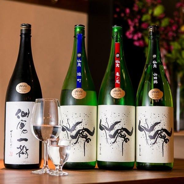日本酒は栃木の仙禽おし!