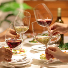 お祝い事にもおすすめ!ワイン2時間飲み放題付きパーティープラン