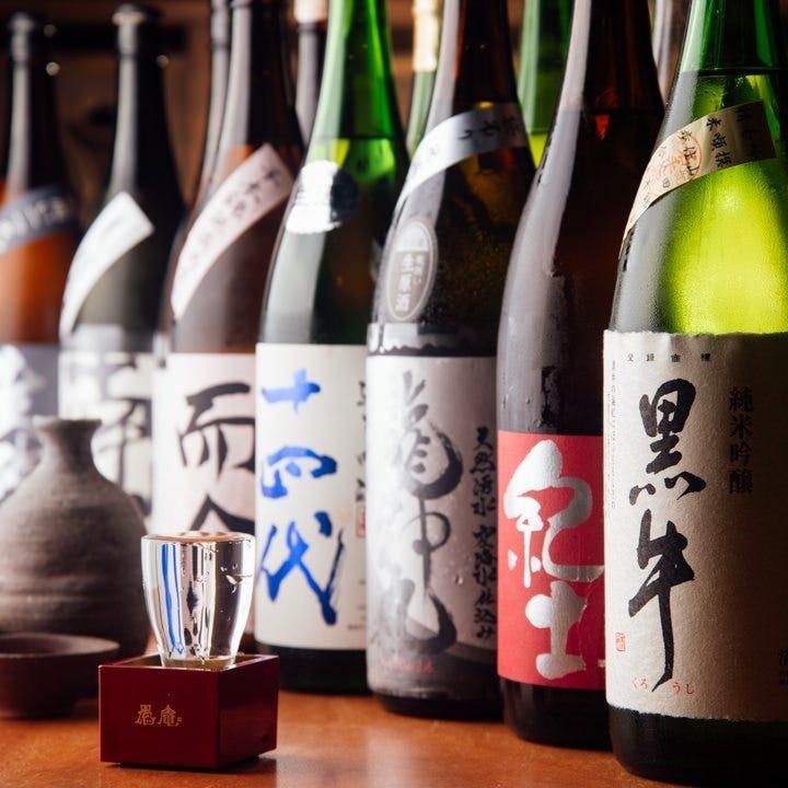 和歌山と全国各地の美酒銘酒をご用意