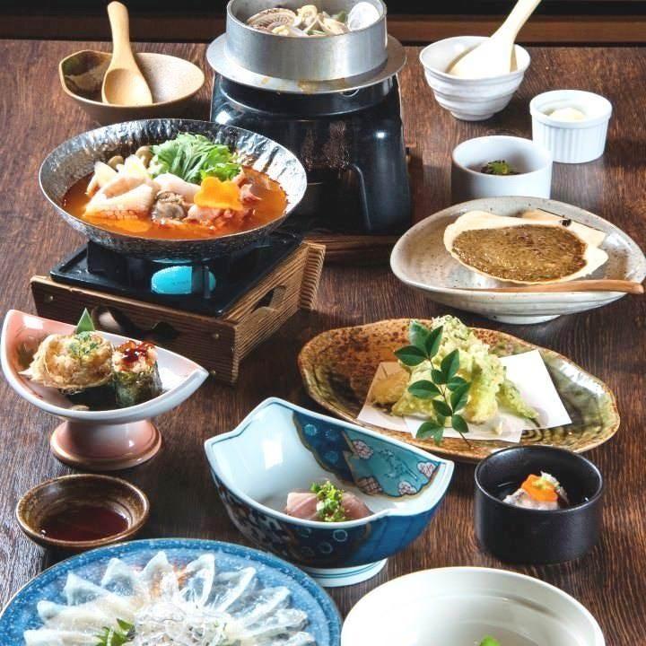 宴会を華やかに彩る季節の料理