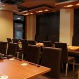 テーブル席◆最大24席【6名席×1、4名席×3、3名席×2】