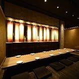 人数に合わせて大小個室や宴会場をご用意。