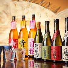 焼酎から日本酒まで九州を集めました