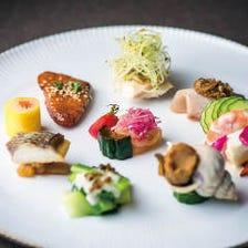 中国料理を一皿ずつコーススタイルで