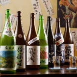 日本酒、焼酎こだわります!美味い飯には美味い酒を。