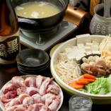 とり心自家製鶏ガラスープの鍋コースは、各種宴会にぴったり!