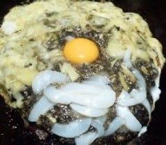 イタリアンスペシャル(いか+イカ墨+チーズ)
