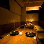 【広々個室】少人数様から団体様までゆったりテーブル個室で宴会♪