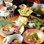 【壱松の接待コース】旬食材の日本料理でおもてなし〈全9品〉5,000円