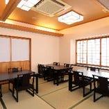和室|テーブル席(4名様×2卓、3名様×1卓、最大11名様まで)