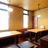 完全個室|テーブル席(6名様×2卓、最大12名様まで)