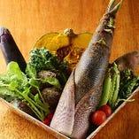 旬野菜を常にご用意