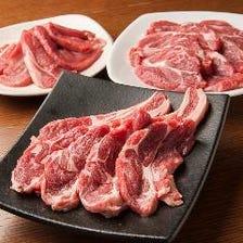 豊富なラム肉のメニュー