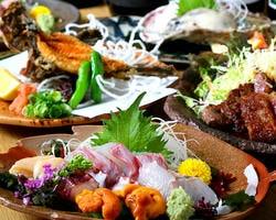 瀬戸内直送鮮魚と地酒のお店 桃の花 コースの画像