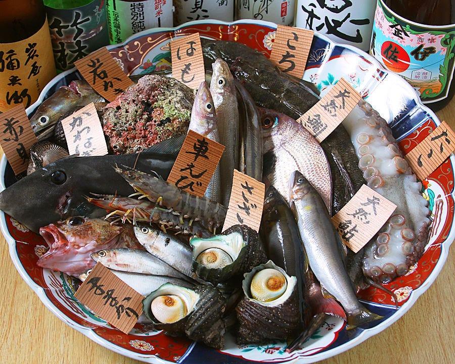 瀬戸内の地魚と季節の鮮魚