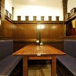 大正浪漫溢れるボックステーブル席(2名様~4名様迄)