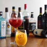 【アルコール】その日の気分や体調に合せてご自身の1杯を!!