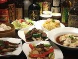 【GOTOポイント・食事券利用可能♪】四川麻婆豆腐や小籠包、海老炒飯を盛り込んだプレミアム4500円コース