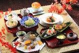 ■四季折々の素材を生かした会席料理■