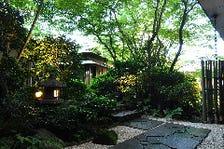 静かな情緒あふれる庭園