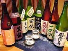 季節のおススメの日本酒をご用意