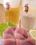 ビール・焼酎・日本酒・梅酒など! 飲み放題メニューも充実!