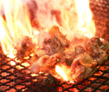 鶏のごろごろ焼き637円! 鶏肉を炭火でゴロゴロ焼き上げます☆