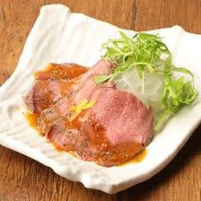 【ステーキ&ローストビーフ】贅沢!『自家製ローストビーフ』など11品