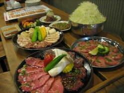 肉稀組  コースの画像