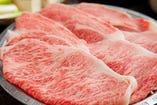 精肉店ならではの牛肉を使用