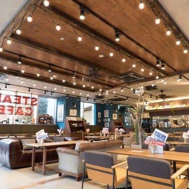 肉が旨いカフェ NICKSTOCK(ニックストック)名古屋駅前店 店内の画像