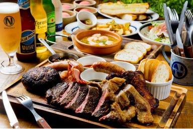 肉が旨いカフェ NICKSTOCK(ニックストック)名古屋駅前店 コースの画像