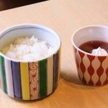 ご飯セット(季節のご飯・デザート)