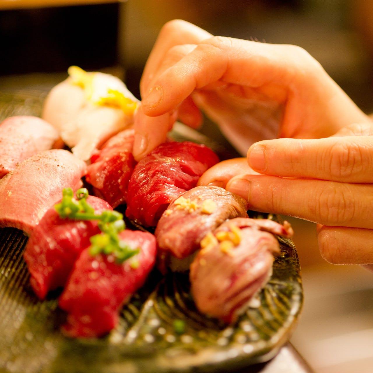 「馬肉に合うお酒」!!肉寿司との相性抜群の飲み物が多数◎