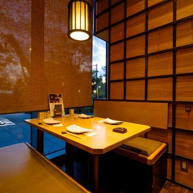 宮崎地鶏炭火焼 車 浜松町店 店内の画像