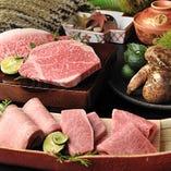 コース料理はご夫婦や恋人同士でのデートや特別な記念日のお祝いにお奨めです。