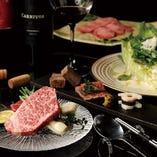 贅沢な素材を心ゆくまでご堪能いただける特コース料理。