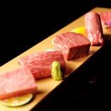 本物を知るお客様ご自身の舌や目、第六感までをも刺激する熟成和牛をお楽しみください。