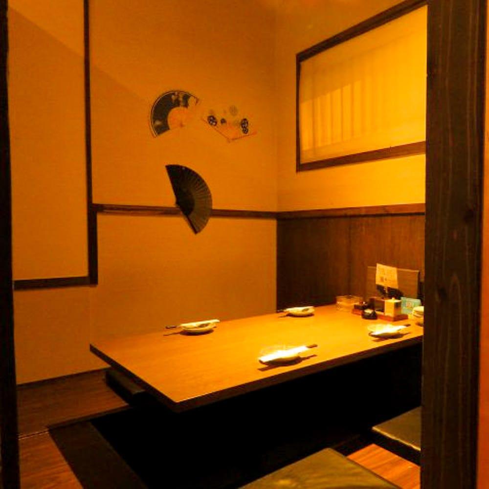 完全個室のプライベートな空間でゆったりとお食事はいかがですか