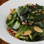 有機 小松菜サラダ