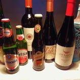 異国ワイン、異国ビールが勢揃い!モロッコ チュニジア レバノンなどのラインナップが楽しめます。