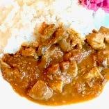 中島カリィ~仔羊とチキンの煮込みカレーライス~(スープ・サラダ付)