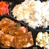 弁当・せせらぎ豚のポークジンジャー定食