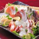 毎日市場より新鮮な魚介を入荷!その日に一番新鮮な魚介を使用★