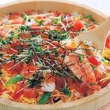 選べる〆⑦海鮮ちらし寿司